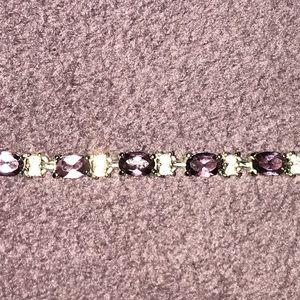 Jewelry - February amethyst birthstone bracelet